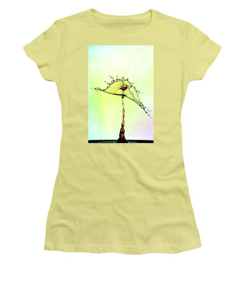Water Drop #7 Women's T-Shirt (Athletic Fit)