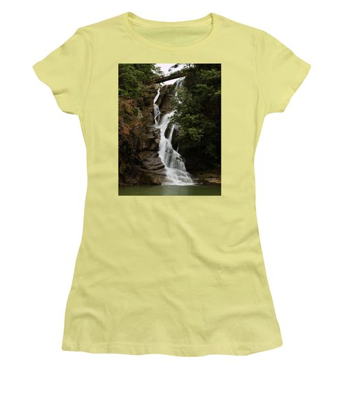 Water Fall 3 Women's T-Shirt (Athletic Fit)