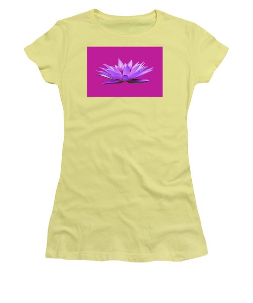 Water Lily Women's T-Shirt (Athletic Fit)