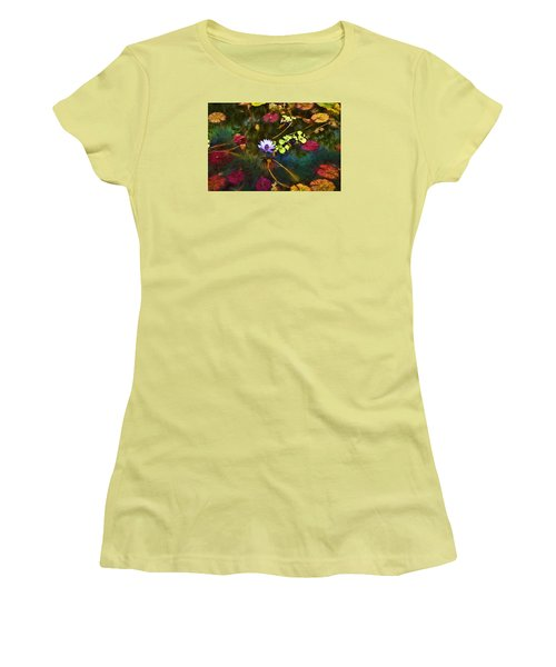 Water Lily Dreams Women's T-Shirt (Junior Cut) by Terry Cork