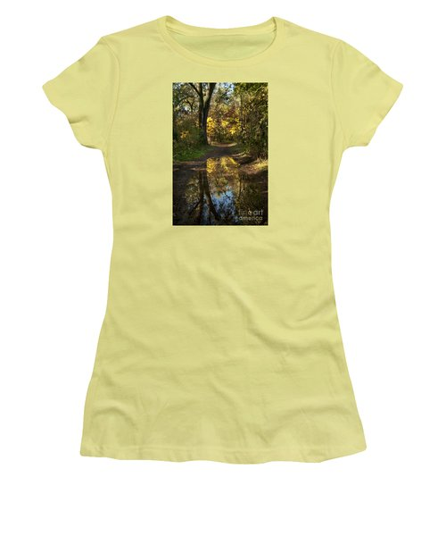 Water On The Trail Women's T-Shirt (Athletic Fit)