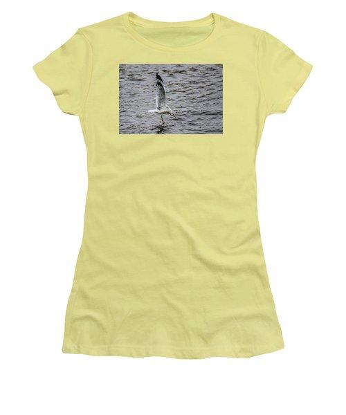 Water Tester Women's T-Shirt (Junior Cut) by Ray Congrove