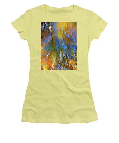 Water Wonder 164 Women's T-Shirt (Junior Cut) by George Ramos