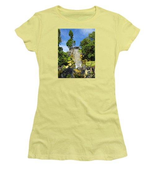 Water Works Women's T-Shirt (Junior Cut) by Barbara Middleton