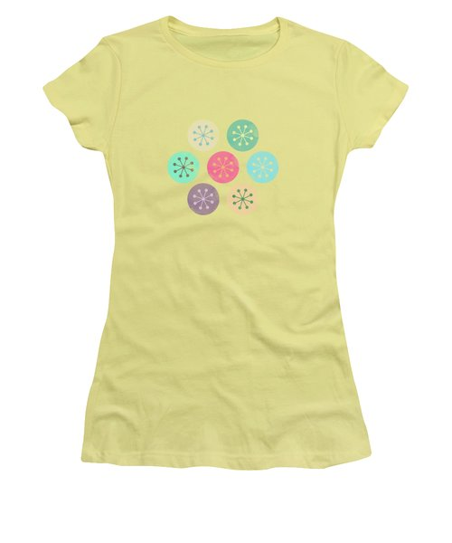 Watercolor Lovely Pattern Women's T-Shirt (Athletic Fit)