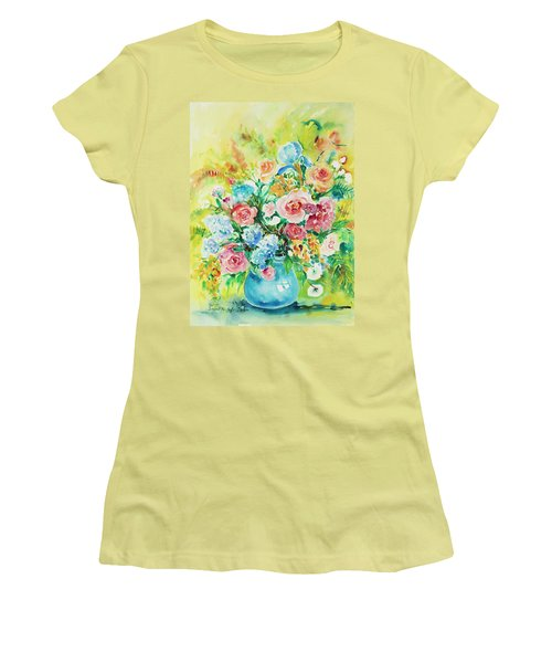 Watercolor Series 120 Women's T-Shirt (Athletic Fit)