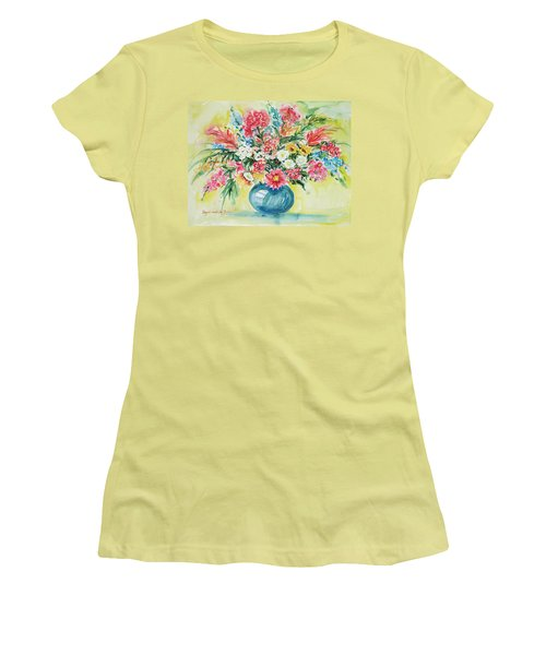 Watercolor Series 58 Women's T-Shirt (Athletic Fit)