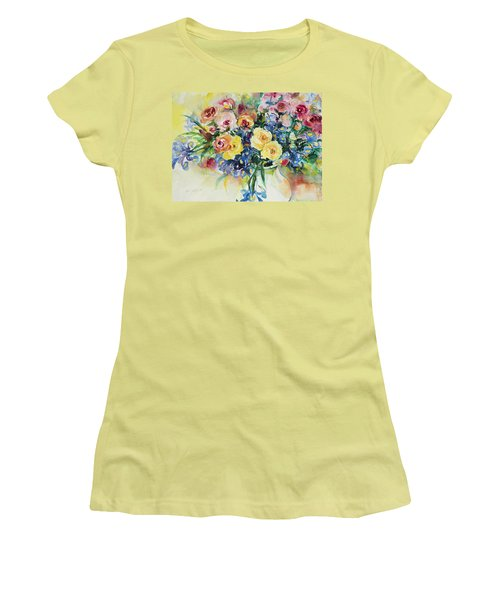 Watercolor Series 62 Women's T-Shirt (Athletic Fit)