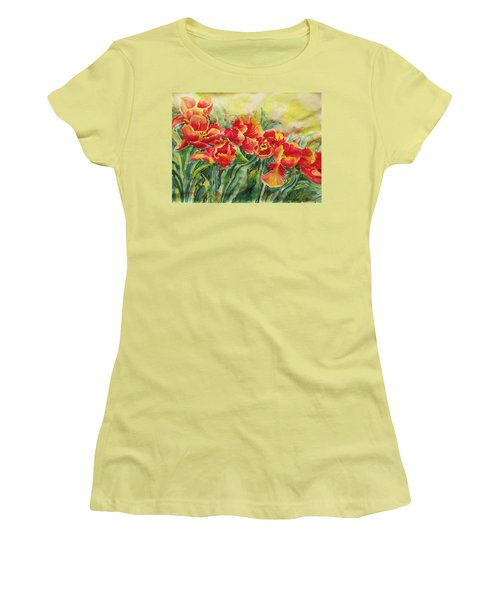 Watercolor Series No. 241 Women's T-Shirt (Athletic Fit)