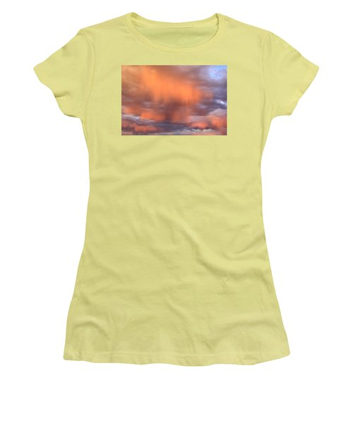 Waterfalls In The Sky Women's T-Shirt (Athletic Fit)