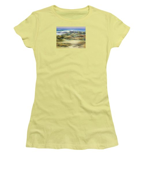 Water's Edge Women's T-Shirt (Athletic Fit)