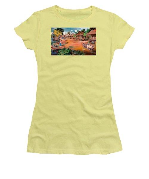 Waterside Town Community Women's T-Shirt (Junior Cut) by Ian Gledhill