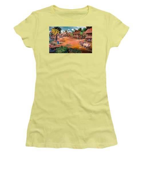 Waterside Town Community Women's T-Shirt (Athletic Fit)