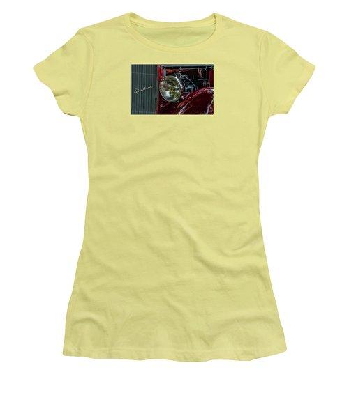 Women's T-Shirt (Junior Cut) featuring the photograph Waupaca Streetrod by Trey Foerster