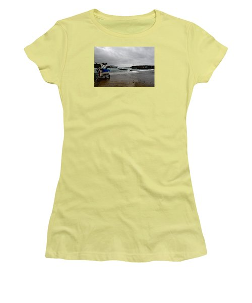 Waves Azores-033 Women's T-Shirt (Athletic Fit)