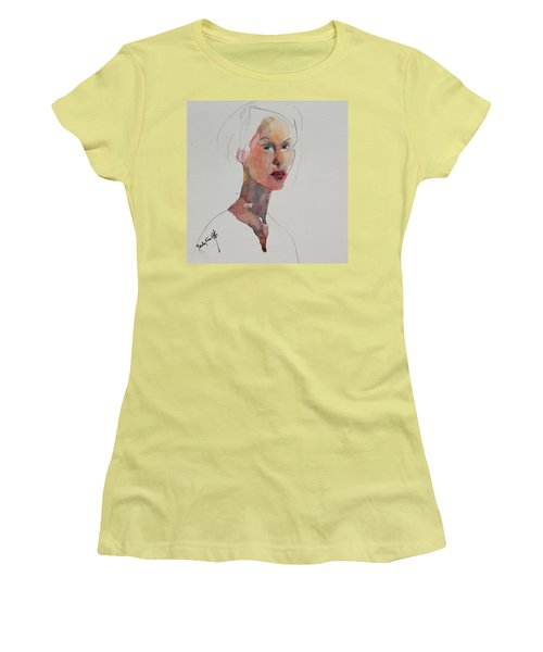 Wc Mini Portrait 2 Women's T-Shirt (Junior Cut) by Becky Kim