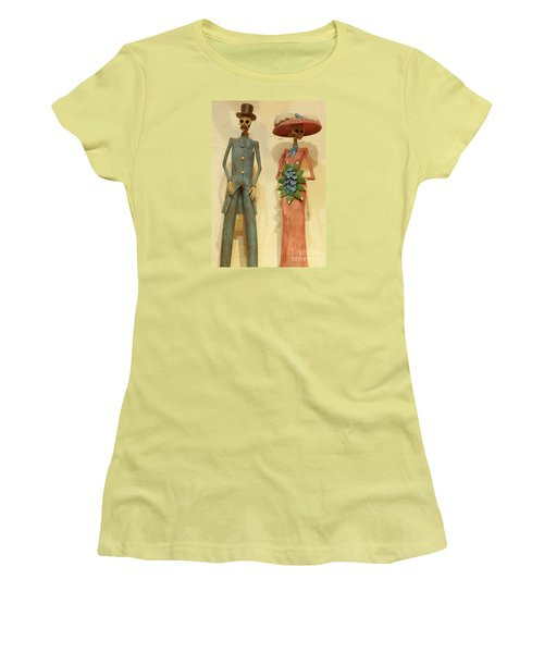 Women's T-Shirt (Junior Cut) featuring the photograph We by Anna  Duyunova