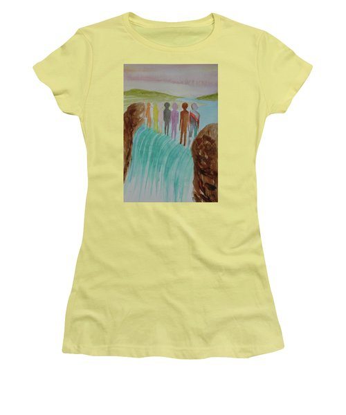 We Are All The Same 1.2 Women's T-Shirt (Junior Cut) by Tim Mullaney