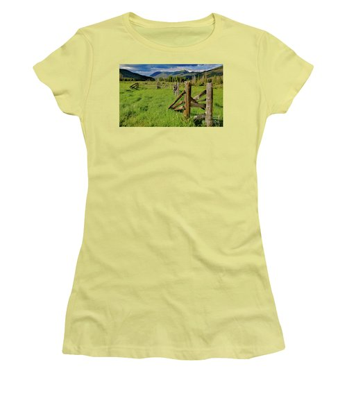 Weathered But Standing Women's T-Shirt (Athletic Fit)