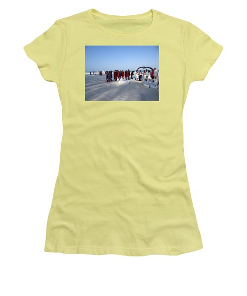 Wedding In The Afternoon Shadow Women's T-Shirt (Athletic Fit)