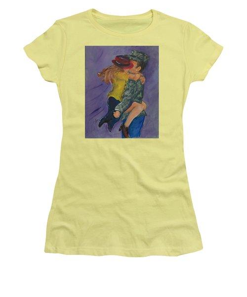 Welcome Home Women's T-Shirt (Junior Cut) by Terri Einer