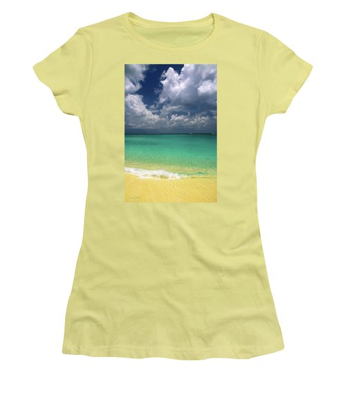 Welcome To Paradise Women's T-Shirt (Athletic Fit)