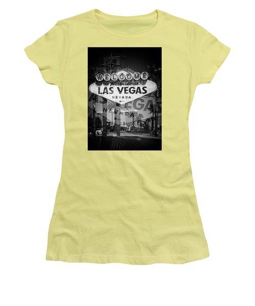 Welcome To Vegas Xiv Women's T-Shirt (Junior Cut)