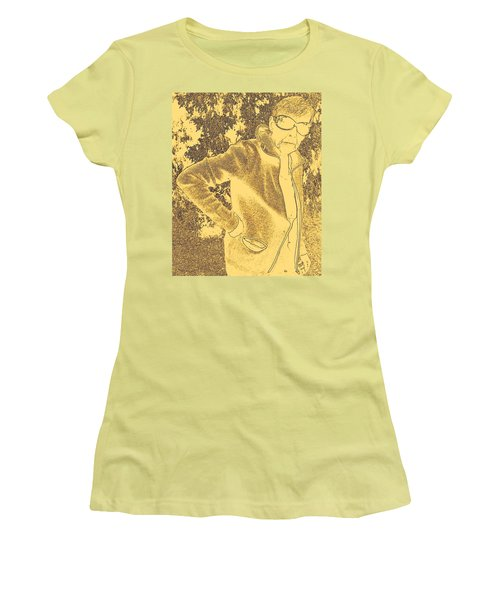 Well Are You Coming 3 Women's T-Shirt (Junior Cut) by Lenore Senior