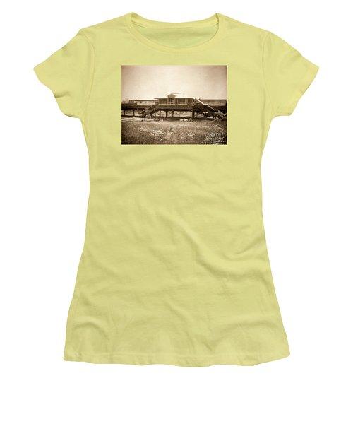 West 207th Street, 1906 Women's T-Shirt (Junior Cut) by Cole Thompson