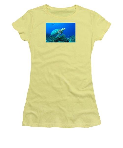West Caicos Traveler Women's T-Shirt (Athletic Fit)