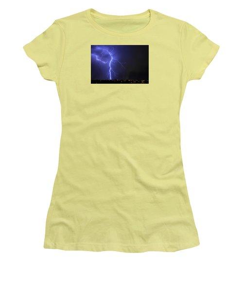 West Jordan Lightning 2 Women's T-Shirt (Athletic Fit)