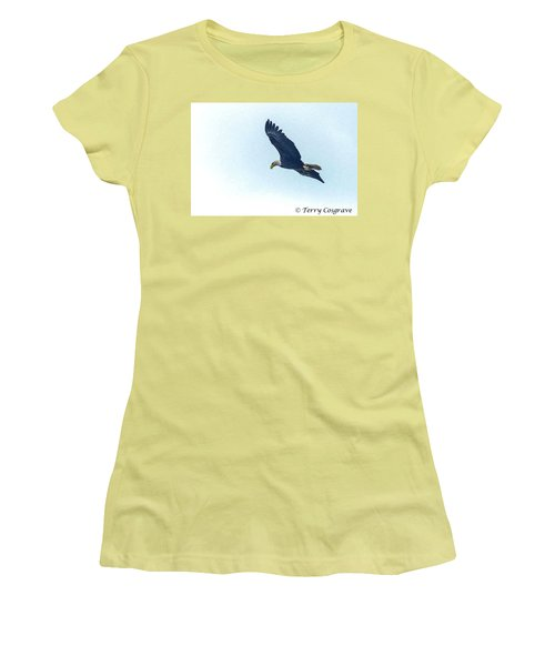 West Point American Eagle. Women's T-Shirt (Athletic Fit)