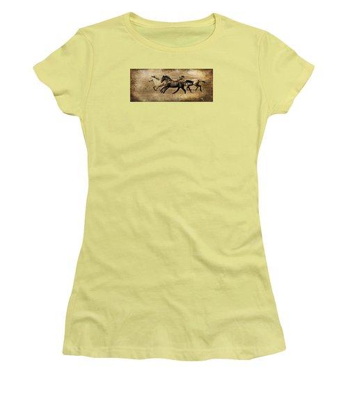 Western Flair Women's T-Shirt (Junior Cut) by Steve McKinzie