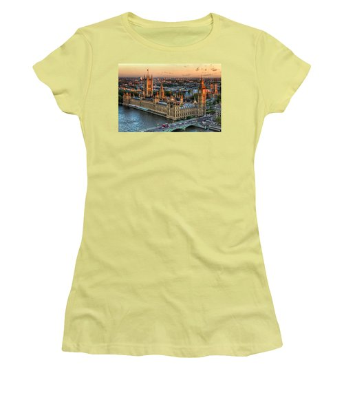 Westminster Palace Women's T-Shirt (Junior Cut) by Tim Stanley