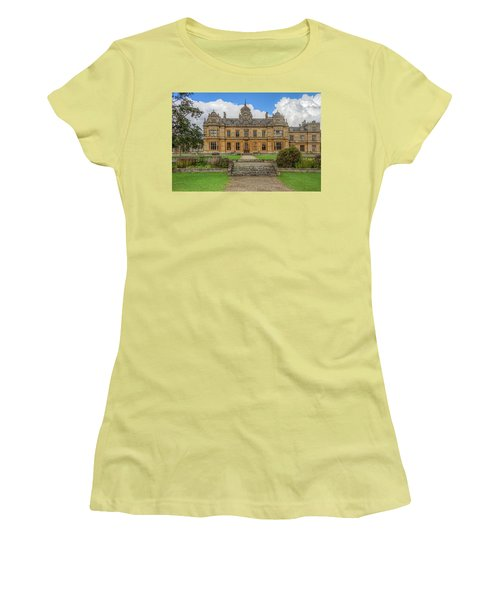Women's T-Shirt (Athletic Fit) featuring the photograph Westonbirt School For Girls by Clare Bambers
