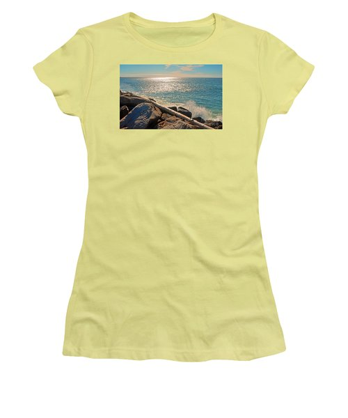 Westport Waves 2 Women's T-Shirt (Athletic Fit)