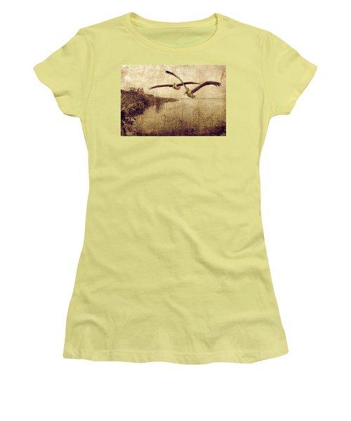 Wetlands Women's T-Shirt (Athletic Fit)