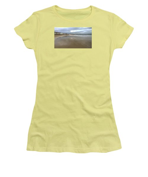 Women's T-Shirt (Junior Cut) featuring the photograph Weymouth Morning by Anne Kotan
