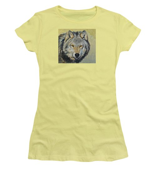 Heres Lookn At You..kid....kid....kid Women's T-Shirt (Junior Cut) by Cliff Spohn