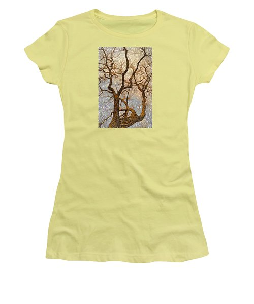 Women's T-Shirt (Junior Cut) featuring the digital art What We See The Mind Believes by James Steele