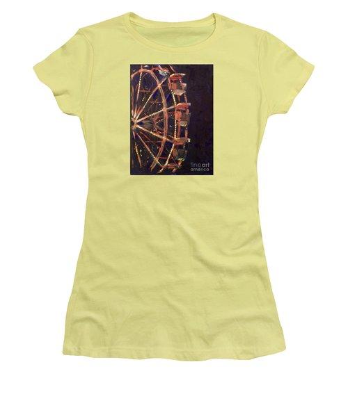 Wheel Women's T-Shirt (Junior Cut) by Joseph A Langley