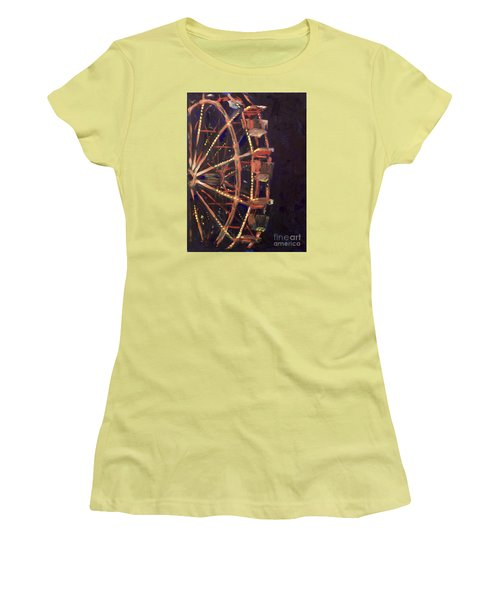 Wheel Women's T-Shirt (Athletic Fit)