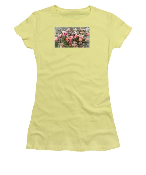 When Love Grows Cold Women's T-Shirt (Junior Cut) by Katie Wing Vigil