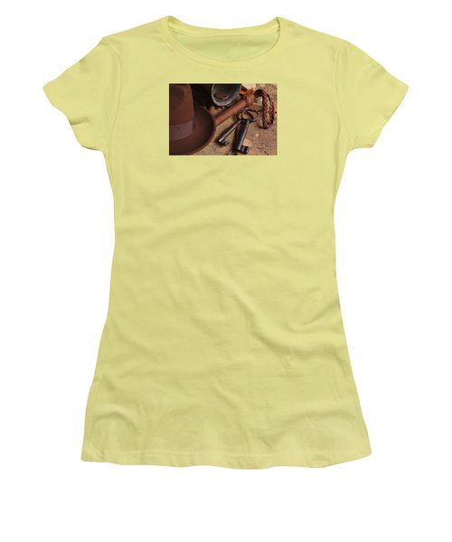 Where Is Indiana? Part 2 Women's T-Shirt (Junior Cut) by Angelo DeVal