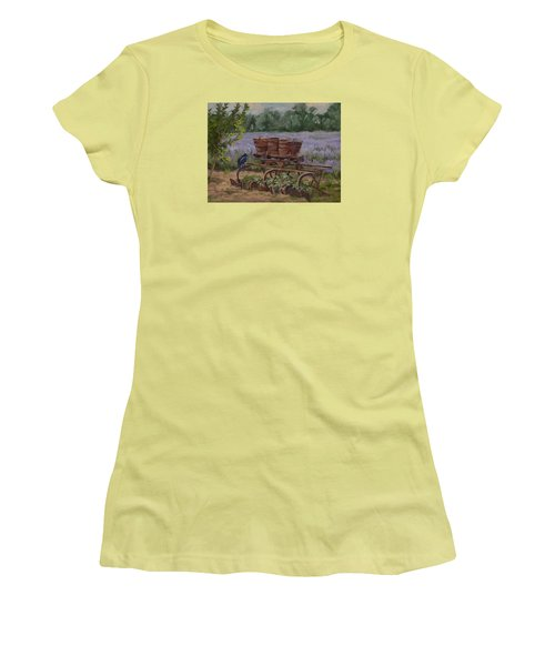 Where's The Seed? Women's T-Shirt (Junior Cut) by Jane Thorpe