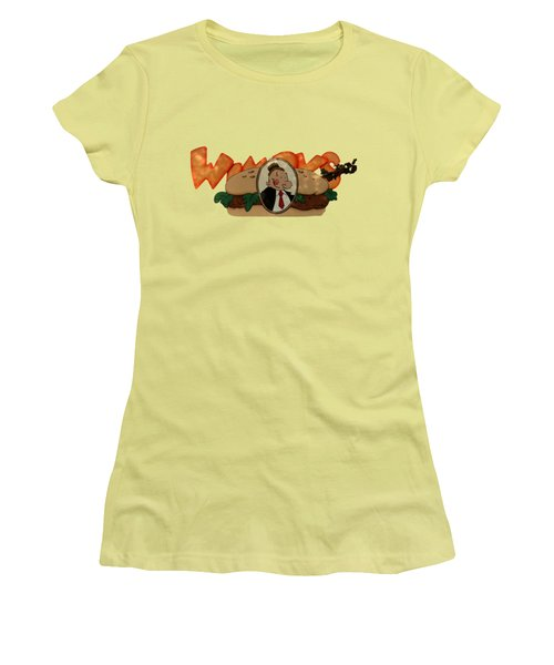 Women's T-Shirt (Junior Cut) featuring the photograph Whimpy by Tom Prendergast