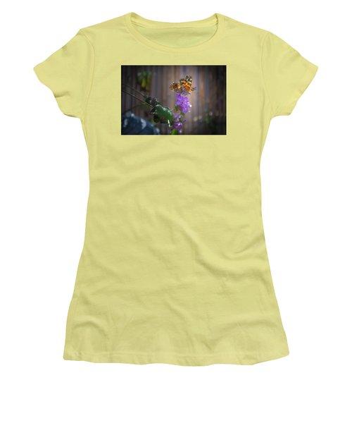 Whispering Wings 2 Women's T-Shirt (Junior Cut) by Mark Dunton