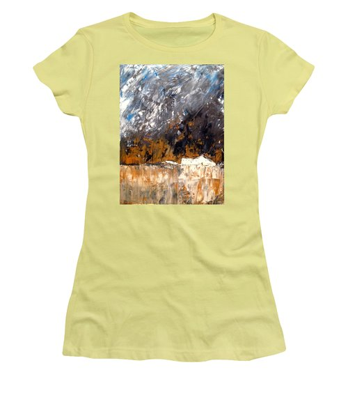 White Buildings No.3 Women's T-Shirt (Athletic Fit)