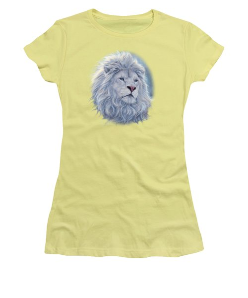 White Lion Women's T-Shirt (Athletic Fit)
