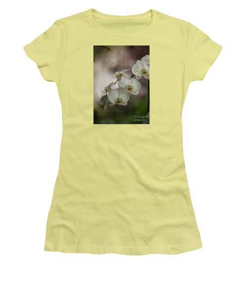 White Of The Evening Women's T-Shirt (Junior Cut) by Mike Reid